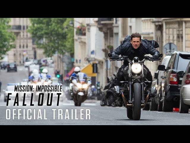 MISSION IMPOSSIBLE: FALLOUT (FINAL SHOWS THURS.) Trailer