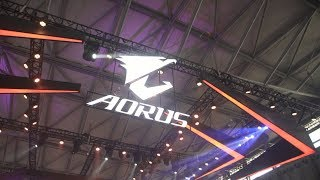 Booth Tour | #AORUS at ChinaJoy 2017
