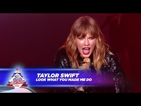 Taylor Swift – 'Look What You Made Me Do' (Live At Capital's Jingle Bell Ball 2017)