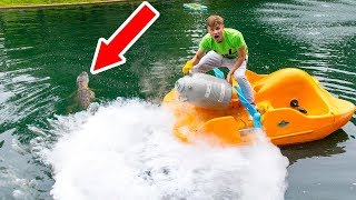 FREEZING POND MONSTER WITH LIQUID NITROGEN!! - Video Youtube