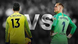 Alisson Becker VS Marc-André ter Stegen ● Craziest Saves Ever ● Ultimate Saves Show ᴴᴰ