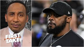 Stephen A. congratulates Mike Tomlin on his contract extension   First Take