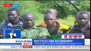 Treasury CS Henry Rotich talks about the impact of the elections on the economy