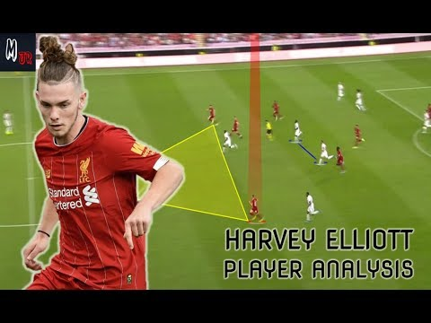 Harvey Elliott VS Lyon / Player Analysis / 16 Years Old Talent