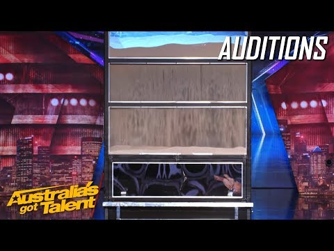 INCREDIBLE and Dangerous Escape | Auditions | Australia's Got Talent (видео)