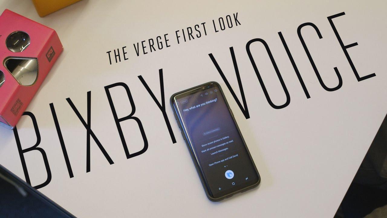 Samsung Bixby Voice first look thumbnail