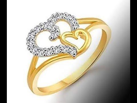 22k Senco Gold Wedding Rings Designs Latest Gold Diamond Finger Ring