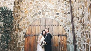 The Sommerfield's Jacuzzi Winery Sonoma Wedding Video