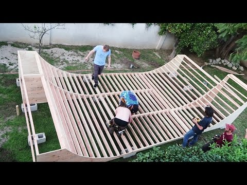 Be Easy Builds a Mini Ramp