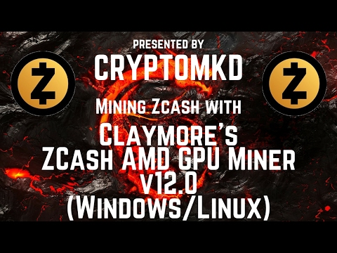 How to mine with Claymore's ZCash AMD GPU Miner v12 0 — Steemit