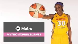 Nneka Ogwumike- Metro ExpressLanes PSA