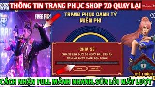 Free Fire News_Hướng Dẫn Cách Nhận Full Mảnh 12 con Giap Nhanh,Review Shop Bí Mật Trở Lại