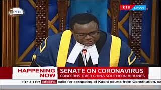 Senate probe how China Southern flight found its way in Kenya in the wake of coronavirus