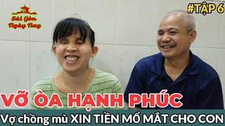 Vợ chồng mù XIN TIỀN MỔ MẮT CHO CON và cái kết ít ai ngờ tới