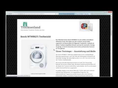 Die besten Wärmepumpentrockner - Test & Kaufberatung 2017 auf Trocknerland