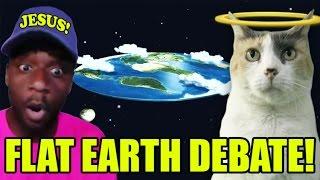 Flat Earth Debate with G MAN!!!