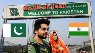 first INDIAN 🇮🇳 You tuber visiting PAKISTAN🇵🇰 kartarpur sahib.. (1st youngest couple from India)