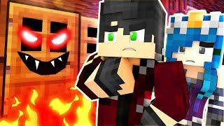 WE CAN'T GO IN THERE... | Krewcraft Minecraft Survival | Episode 10