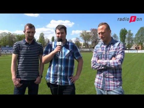 Przed meczem 29. kolejki rozmawiamy z Wojtkiem Okińczycem oraz Adrianem Klepczyńskim
