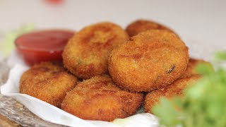 Cauliflower Cutlet ॥ Gobi Cutlet ॥ Snack Recipe By BD Food World