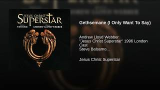 Gethsemane (I Only Want To Say)