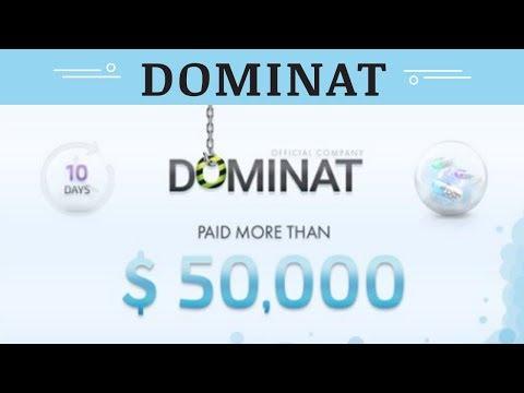 Dominat.company отзывы 2019, mmgp, обзор ВЫПЛАЧЕНО БОЛЕЕ 50000 USD ЗА 10 ДНЕЙ
