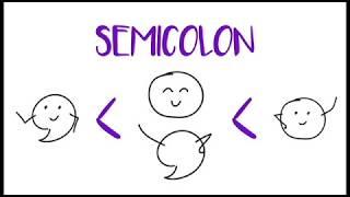 semicolon examples