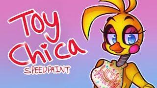 toy chica ☆ fnaf speedpaint