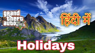Ultra High Graphics Gta5 | Mountain Tour Holiday Dadasahab |1080p 60fps 2018 Hindi