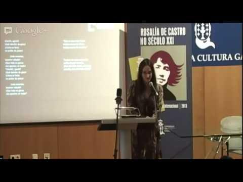 Estíbaliz Espinosa. Recital Cantares para Rosalía