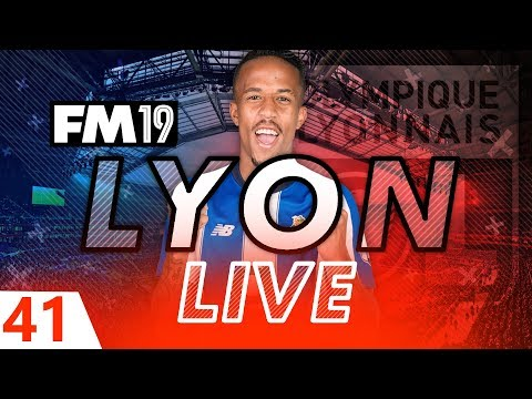 Football Manager 2019 | Lyon Live #41: Rolling In Money #FM19
