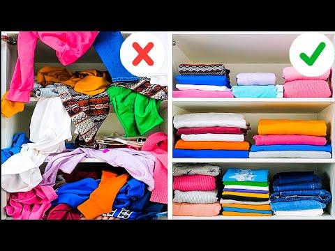 שיטות קיפול שכדאי להכיר לפני שאורזים מזוודה או מסדרים את הארון