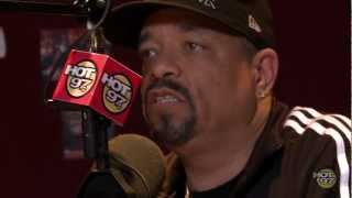 Ice-T tells Angie Martinez how the 'Art of Rap' came about