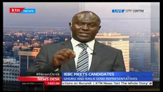 IEBC holds a meeting with presidential aspirants to enlighten them on the rules and regulations