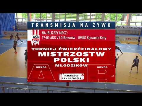 SIATKÓWKA NA ŻYWO: Turniej ćwierćfinałowy Mistrzostw Polski młodzików [WIDEO]