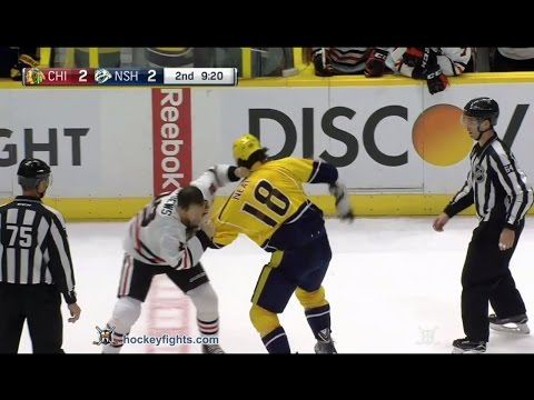 James Neal vs. Jonathan Toews