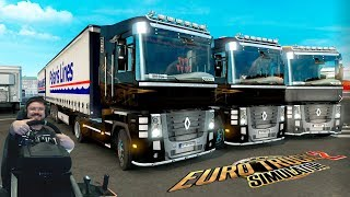 Стрим на Др Сония - приключения в онлайне Euro Truck Simulator 2