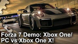 Digital Foundry - Xbox One X vs PC vs Xbox One S