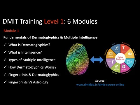 DMIT Course Details, DMIT Training Fingerprint Analysis, DMIT Lab ...