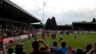 preview picture of video 'Barnet FC vs Port Vale 070511 Celebration with Winnie'