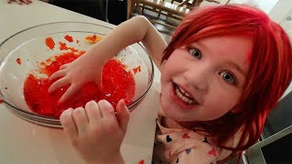 ADLEY got PiNK HAiR!!  Ultimate Surprise for Mom & Dad after Snowboarding Date! Happy Valentines Day