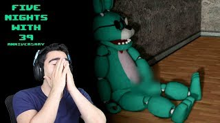 I CAUGHT HIM TOUCHING THE D... AGAIN!!!   Five Nights With 39: Anniversary (Nights 5 & 6)