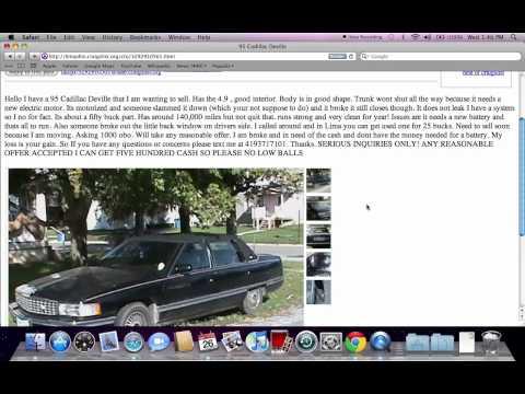 Craigslist Cars