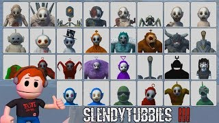 SLENDYTUBBIES 3 | THE ULTIMATE SURVIVAL CHALLENGE - ME VS EVERY MOB IN THE GAME