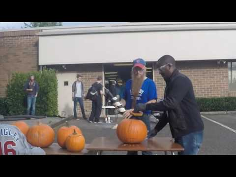 Edmonds CC Haunted STEM Pumpkin Explosion