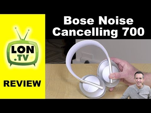 External Review Video XimM3_wB7f8 for Bose Noise Cancelling Headphone 700
