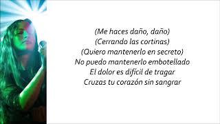 AuRa   Dance In The Dark (Letra En Español)