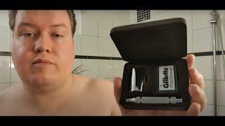 Rasur mit dem Gillette Heritage-Inspired Double Edge Safety Razor