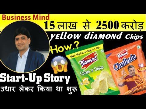 15 लाख से 2500 करोड़ - Failure to success -  Yellow Diamond - Amit Kumat biography