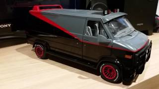 MY DIECAST (TV/MOVIE) A-TEAM VAN GMC VANDURA
